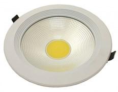 FL-LED DLA 30W 2700K D=225мм h=65мм d=205мм 30Вт 2600Лм (JS003) (встраиваемый круглый)