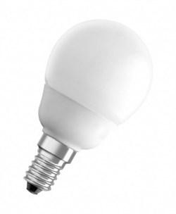 ESL  GL45  QL7  11W  4200K  E14  GLOBE  d45Х88 FOTON -  лампа (Е031) - фото 10505