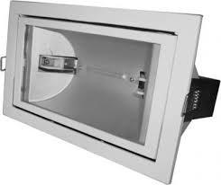 FL-2019    BOX   70W Rx7s  White встройка 212x122 поворотный прозрач 225x135 - фото 10604