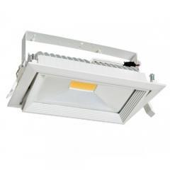 FL-LED DLD 30W 4200K A=235мм B=145мм H=135мм 30Вт 2600Лм (JS010) (встраиваемый поворотный прямоугол) - фото 10669