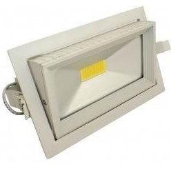 FL-LED DLD 30W 2700K 235x145x135 30W 2600Lm (JS009) встраиваемый поворотный прямоугол - фото 10670