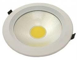 FL-LED DLA 30W 4200K D=225мм h=65мм d=205мм 30Вт 2600Лм (JS004) (встраиваемый круглый) - фото 10676