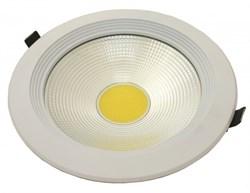 FL-LED DLA 20W 4200K D=190мм h=60мм d=170мм 20Вт 1800Лм (JS002) (встраиваемый круглый) - фото 10677