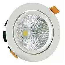 FL-LED DLB 20W 4200K D=180мм h=102мм d=165мм 20Вт 1800Лм (JS006) (встраиваемый поворотный круглый) - фото 10679
