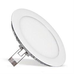 FL-LED PANEL-R11 4200K D=146мм h=20мм d=133мм 11Вт 880Лм (S270) (светильник встраиваемый круглый) - фото 10715