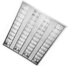 FL-LED PANEL-T40 4200K 595*595*57мм 40Вт 3200Лм (светильник растровый)  (S199) - фото 10765