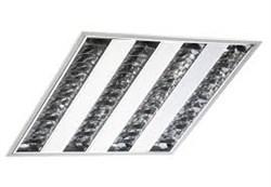 FL-LED PANEL-T40 6400K 595*595*57мм 40Вт 3200Лм (светильник растровый)  (S200) - фото 10769
