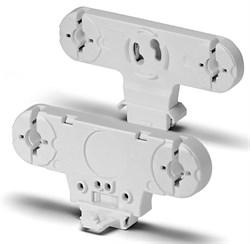 22601 VS Патрон двойн G13 вращ контакты +стартеродерж h25x76 ножка без стопора - фото 12509
