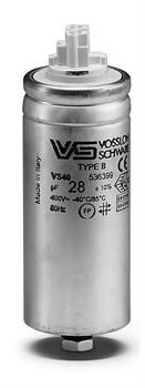_WTB 50 мкФ ±5% 250V d45 l103 M8x10 (Алюм. корпус/Wago/-40С...+100C) Конденсатор - фото 12623
