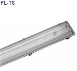 FL  2X18W - корпус-ABS колпак-полистирол стартер+ЭМПРА IP65 (S079) - фото 12937