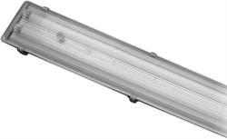 FL  2X36W  EL   корпус-ABS колпак-полистирол ЭПРА IP65 (S082) - фото 12947