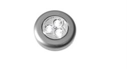 Светильник круглый светодиод серебро FOTON LIGHTING Аналог DOT IT OSRAM - фото 12950
