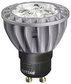 HI-SPOT RefLED ES50 6,5W 3000K 305lm 40' GU10 DIM  dark gray - лампа SYLVANIA - фото 14988