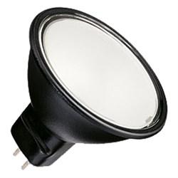 BLV      Reflekto Fr/Black    50W  40°  12V  GU5.3  3500h  черный / матовая - лампа - фото 16189