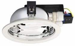 FBH020 2*PL-C/2P26W/840 (downlight, в компл. лампы, d-190, h-104) -светильн - фото 17607