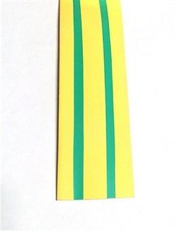 Термоусадочная трубка ТТУ 60/30 желто-зеленая 1 м IEK - фото 18356