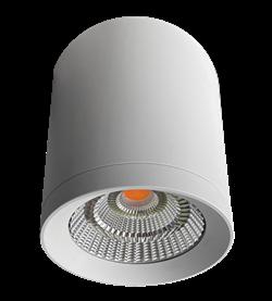 GREEN TUBE 35/BLOOM d=140мм, h=175мм, 60гр., белый - светодиодый накладной/ подвесной светильник для освещения и досветки цветов - фото 25477