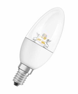 Светодиодная лампа свеча прозрачная Осрам
