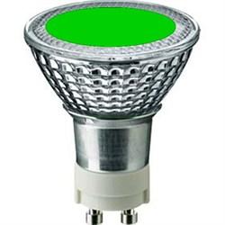 SYLVANIA BriteSpot ES50 35W/GREEN  GX10 -  цветная лампа - фото 5724