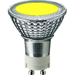 SYLVANIA BriteSpot ES50 35W/YELLOW  GX10 -  цветная лампа - фото 5726