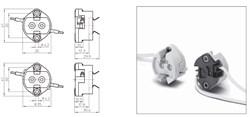 42222 VS Патрон G12 Ceramic T250° +провода 1.0x300 - фото 6085