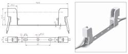 32330 VS Патрон RX7s керамика на планке 132мм. провод 1 кв.мм - фото 6104