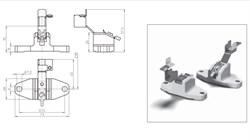 21100 VS Держатель  K12s-7  керамика T300 для HQI TS 1000/2000 - фото 6108