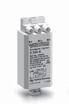 Z  250 S ИЗУ  для HS, HI, C-HI  ламп 35-250W d35x76  Vossloh Schwabe - фото 6165