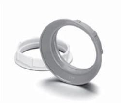08610 VS Абажурное кольцо Е27 белые  d55х15 M40X2,5 для 64501 - фото 6496