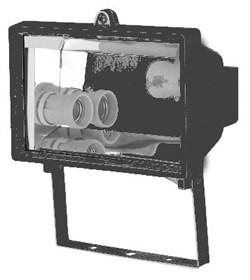 FL- 2016-1      2xE27 MAX, Черный  - прожектор АКЦИЯ! - фото 6776
