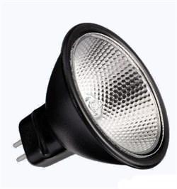 BLV       Reflekto Alu/Black 35мм   35W  12°  12V  GU4  3500h  черный / прозрачная- лампа - фото 8456