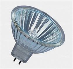 Decostar 51 41860 20Вт-12В WFL-36, MR16. Лампа галогенная Dн=51мм, GU5,3, без стекла - фото 8539