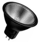 HRS51 BL 220V 35W GU5.3 black JCDR -  лампа  (103) 10/200 - фото 9042