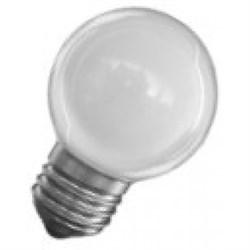 DECOR  P40 LED12 230V  E27 BLUE  0,6W 14lm (LED шарик) FOTON  -  лампа (S048)СНЯТО - фото 9166