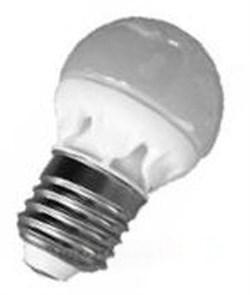 FL-LED-GL45 6W E27 4200К CERAM 230V 480lm  45*77mm  (S164) FOTON_LIGHTING  -  лампа АКЦИЯ! - фото 9173
