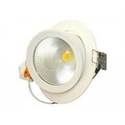 FL-LED DLC 30W 4200K D165xd150x130 30W 2600Lm встраиваемый поворотный круглый