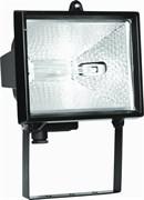 Прожектор галогенный FL-H 1000 IP54 черный (S006) (ИО 04-1000)  255*118*275 СНЯТО