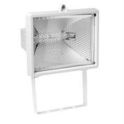 Прожектор галогенный FL-H 1000 IP54 белый (S005) (ИО 04-1000)   255*118*275 СНЯТО