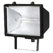 Прожектор галогенный FL-H 1000 IP54 черный (S006) (ИО 04-1000)  255*118*275