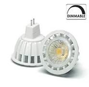 VS LED MR16  7W=50W GU5.3 DIM 3000K 24° 410 lm 12V AC/DC 35000h  -  светодиодная лампа