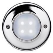 47005-71 AQUALED 4-WC SW/SIL 0.4W 10V встройка белый 4xLED хром d88x83 -свет-к