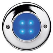 47005-73 AQUALED 4-BC SW/SIL 0.5W 10V встройка синий 4xLED хром d88x83 -свет-к