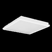 """Светодиодный светильник """"ВАРТОН"""" тип кромки Microlook BE (Silhouette 15) 593*593*60мм 36 ВТ 2700К"""