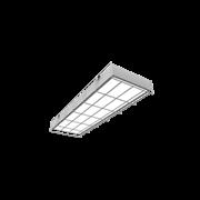 """Светодиодный светильник """"ВАРТОН"""" спортивный накладной 595*200*65мм 18 ВТ 6500К с защитной сеткой с функцией аварийного освещения"""