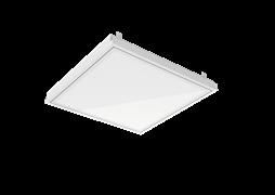 """Светодиодный светильник """"ВАРТОН"""" тип кромки Clip-In (GemaGrid) 600*600*62мм 36 ВТ 6500К IP54 с опаловым рассеивателем с функцией аварийного освещения"""