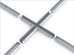 Соединитель X-образный с набором креплений для светильников серии G-Лайн 1255*1170*80 36Вт 6500К