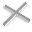 Соединитель X-образный с набором креплений для светильников серии G-Лайн 1255*1170*80 36Вт 2700К