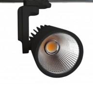 FL-LED LUXSPOT 45W  BLACK  3000K 4500Лм 45Вт 220-240В FOTON черный 3-ф трек светильник