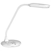 Настольный светодиодный светильник SUPRA SL-TL 301  5W, диммир. , белый пластик