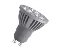 80330   4W 100-240V PAR16 GN GU10 зеленая - светодиодная лампа